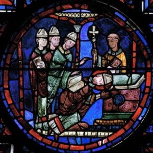 Chartres Cathedral - Martin takes up the bishopric