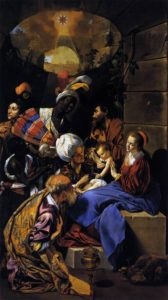 Fray Juan Bautista Maino - The Adoration of the Magi (1612)