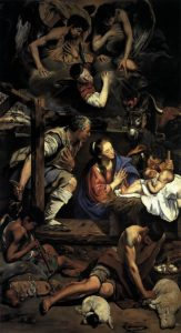 Fray Juan Bautista Maino - The Adoration of the Shepherds (1612)